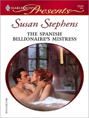 cover image of The Spanish Billionaire's Mistress