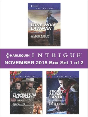 cover image of Harlequin Intrigue November 2015, Box Set 1 of 2