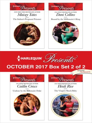cover image of Harlequin Presents October 2017--Box Set 2 of 2