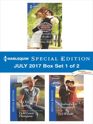 cover image of Harlequin Special Edition July 2017 Box Set 1 of 2