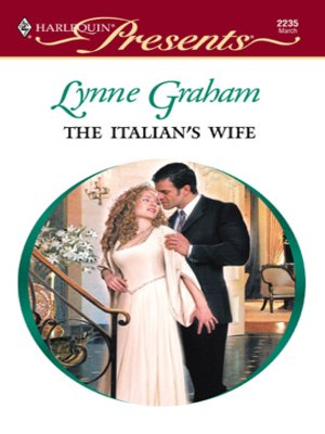 cover image of The Italian's Wife