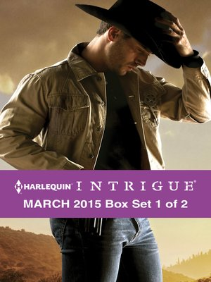 cover image of Harlequin Intrigue March 2015 - Box Set 1 of 2: The Deputy's Redemption\Deception Lake\The Ranger