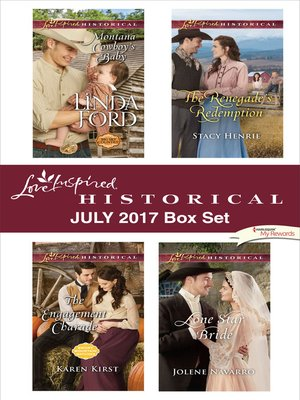 cover image of Love Inspired Historical July 2017 Box Set