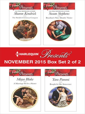 cover image of Harlequin Presents November 2015, Box Set 2 of 2