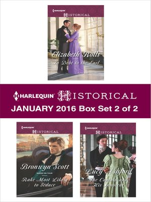 cover image of Harlequin Historical January 2016, Box Set 2 of 2
