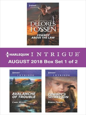 cover image of Harlequin Intrigue August 2018--Box Set 1 of 2