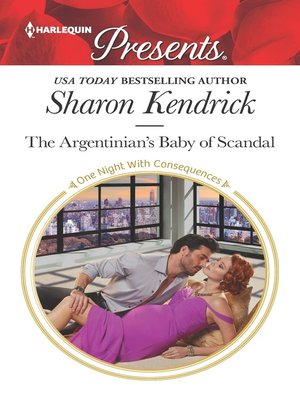 cover image of The Argentinian's Baby of Scandal