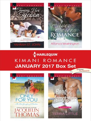 cover image of Harlequin Kimani Romance January 2017 Box Set