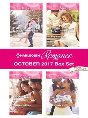 cover image of Harlequin Romance October 2017 Box Set