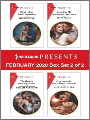 cover image of Harlequin Presents--February 2020--Box Set 2 of 2