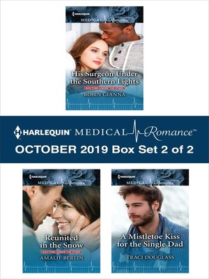 cover image of Harlequin Medical Romance October 2019, Box Set 2 of 2