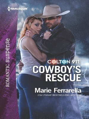 cover image of Colton 911: Cowboy's Rescue