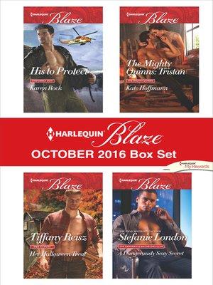 cover image of Harlequin Blaze October 2016 Box Set