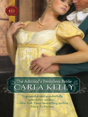 cover image of The Admiral's Penniless Bride