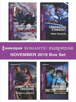 cover image of Harlequin Romantic Suspense November 2019 Box Set