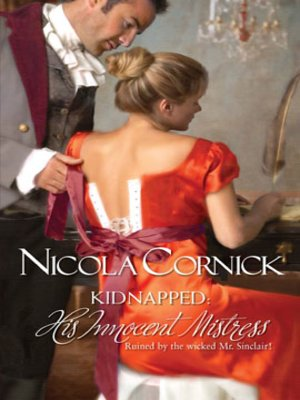 cover image of Kidnapped: His Innocent Mistress