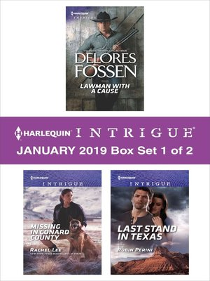 cover image of Harlequin Intrigue January 2019, Box Set 1 of 2