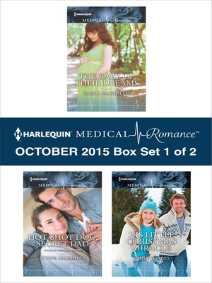 cover image of Harlequin Medical Romance October 2015, Box Set 1 of 2