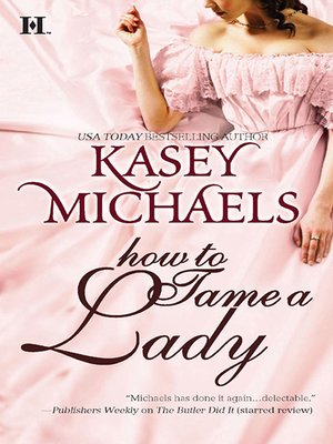 cover image of How to Tame a Lady