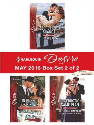 cover image of Harlequin Desire May 2016, Box Set 2 of 2
