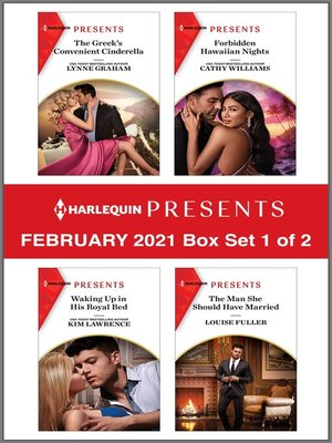 cover image of Harlequin Presents--February 2021--Box Set 1 of 2