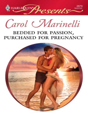 cover image of Bedded for Passion, Purchased for Pregnancy
