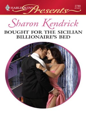 cover image of Bought for the Sicilian Billionaire's Bed