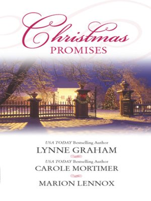 cover image of Christmas Promises: The Christmas Eve Bride\A Marriage Proposal for Christmas\A Bride for Christmas