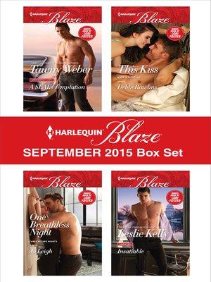 cover image of Harlequin Blaze September 2015 Box Set