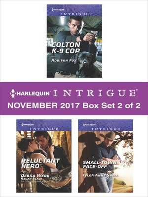 cover image of Harlequin Intrigue November 2017--Box Set 2 of 2