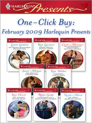 cover image of February 2009 Harlequin Presents`