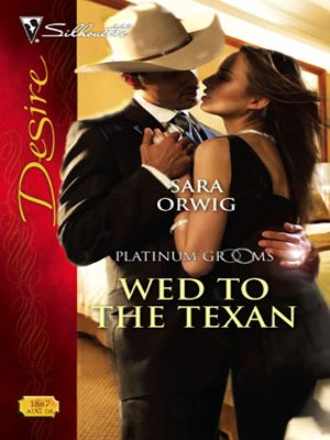 cover image of Wed to the Texan