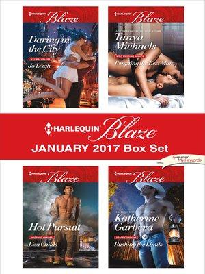cover image of Harlequin Blaze January 2017 Box Set