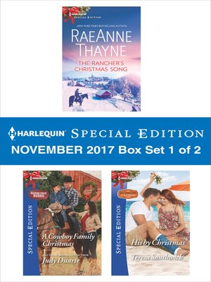 cover image of Harlequin Special Edition November 2017--Box Set 1 of 2