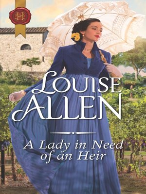 cover image of A Lady in Need of an Heir
