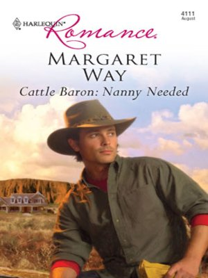 cover image of Cattle Baron: Nanny Needed