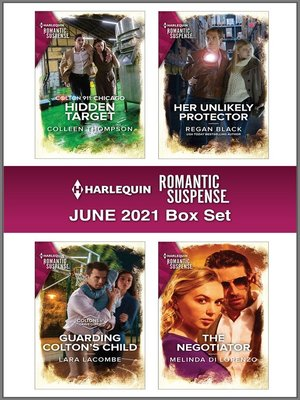 cover image of Harlequin Romantic Suspense May 2021 Box Set
