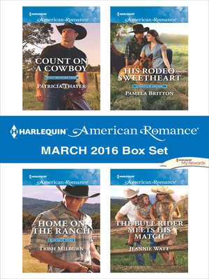 cover image of Harlequin American Romance March 2016 Box Set