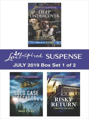 cover image of Harlequin Love Inspired Suspense July 2019, Box Set 1 of 2