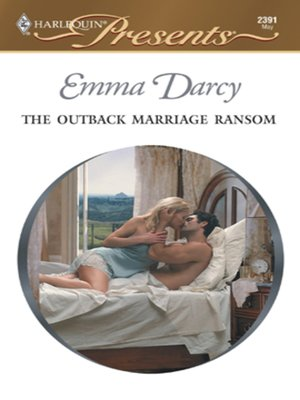 cover image of The Outback Marriage Ransom
