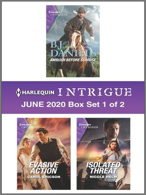 cover image of Harlequin Intrigue June 2020--Box Set 1 of 2