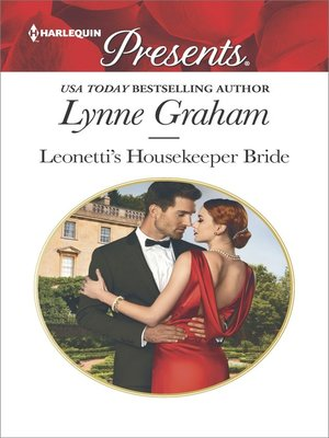 cover image of Leonetti's Housekeeper Bride