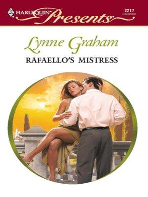 cover image of Rafaello's Mistress