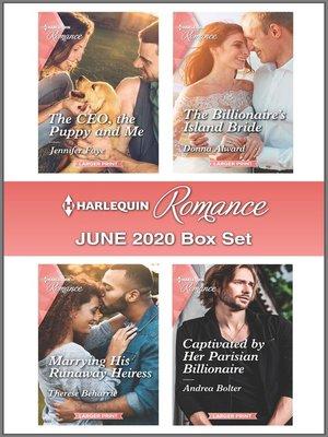 cover image of Harlequin Romance June 2020 Box Set