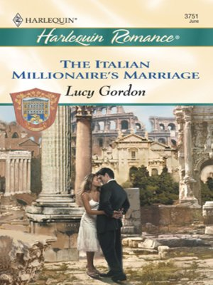cover image of The Italian Millionaire's Marriage