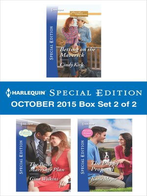cover image of Harlequin Special Edition October 2015, Box Set 2 of 2