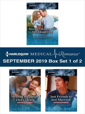 cover image of Harlequin Medical Romance September 2019, Box Set 1 of 2