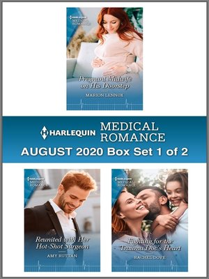 cover image of Harlequin Medical Romance August 2020--Box Set 1 of 2