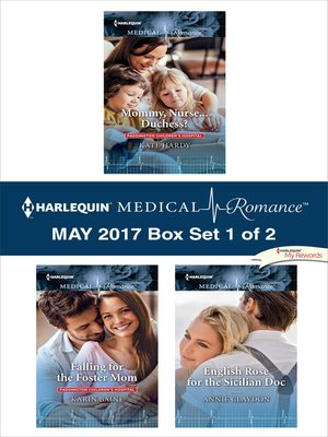 cover image of Harlequin Medical Romance May 2017, Box Set 1 of 2