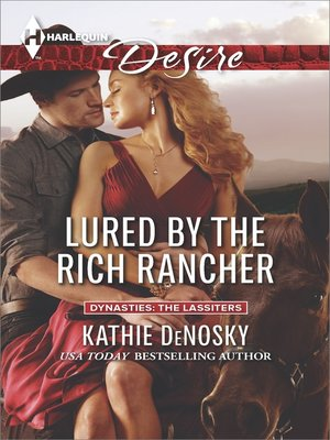 cover image of Lured by the Rich Rancher